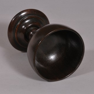 Antique Treen 19th Century Rosewood Goblet