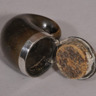 Antique 19th Century Stag Horn Snuff Mull