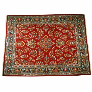 Large 20th Century Heriz Persian Carpet