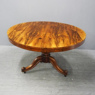 Victorian Rosewood Centre Table or Breakfast Table