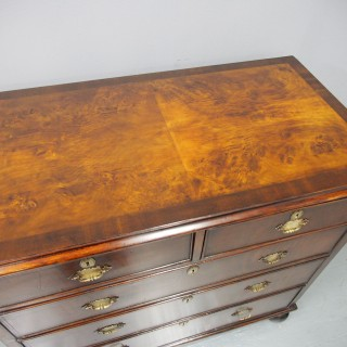 George III Walnut Chest of Drawers