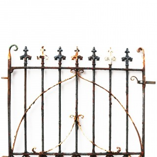 Antique English Wrought Iron Gate