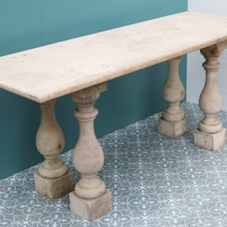 Antique Portland Stone Table