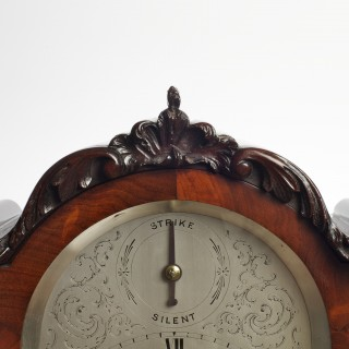 Willaim IV Mahogany cased English Fusee Bracket Clock by Daniel Ross, Exeter