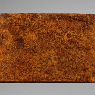 Early 18th  Century Pollard/Burr  Oak Side Table