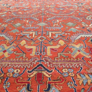Attractive Heriz carpet