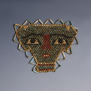 Beaded Egyptian Mummy Mask