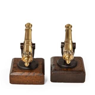 A Pair Of 19th Century ½inch Bore Signal Guns
