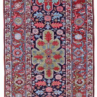 Antique Serapi runner