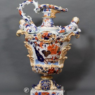 MASON'S IRONSTONE CHINA EWER
