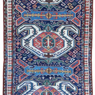 Antique Lenkoran rug