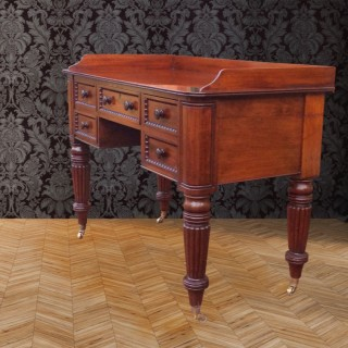 Antique Mahogany Side or Serving Table