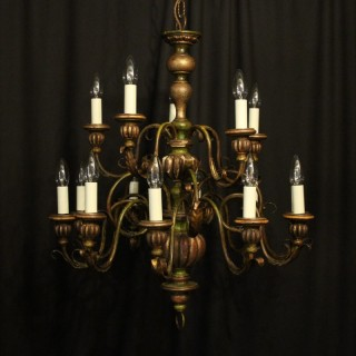 Florentine 15 Light Polychrome Chandelier