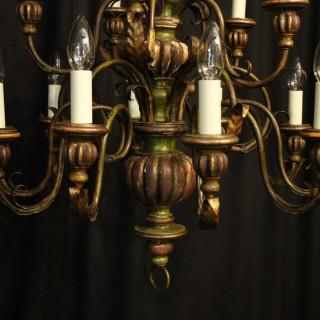 Florentine 15 Light Polychrome Chandelier
