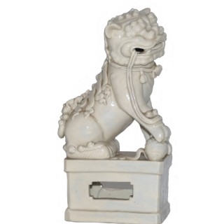 Kangxi Blanc de Chine Dog of Fo