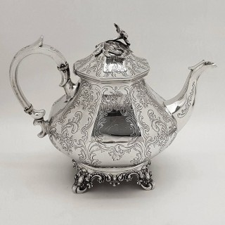 Antique Silver Teaset