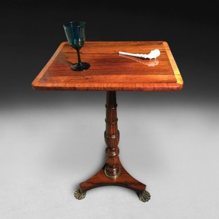 Regency Period Rosewood Wine Table