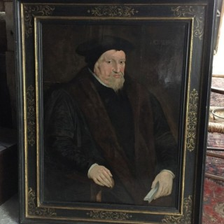 Portrait On Oak Panel UK, 1569