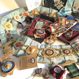 Collection of Lodge Regalia