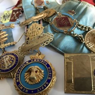 Collection of Lodge Regalia