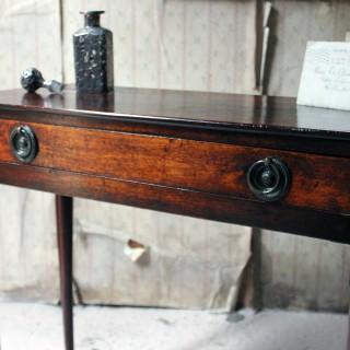 A Diminutive George II Provincial Mahogany Side Table c.1750