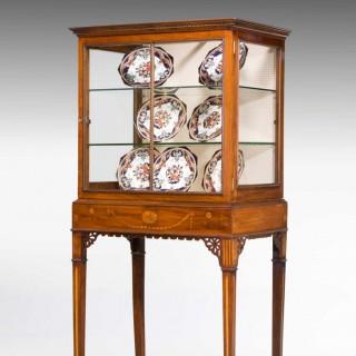 George III Style Mahogany China Cabinet