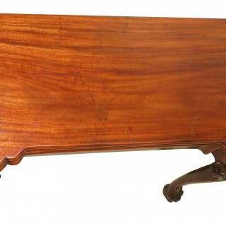 Early Georgian 18th Century Mahogany Triple Top Tea & Card Table