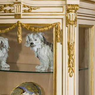 A 19th Century 'Belle Epoque' China Cabinet