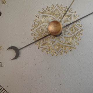 Victorian Oak Aneroid Barometer
