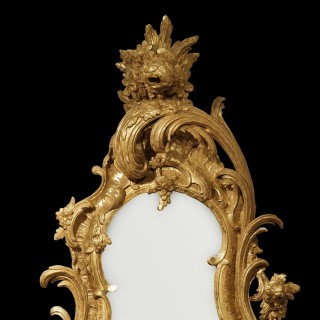 A Pair of George II Style Mirrors