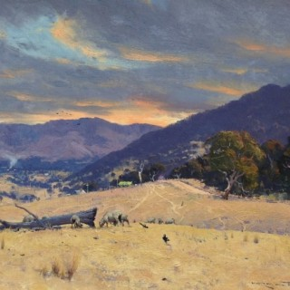 Drought Dawn by Warwick Fuller