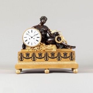 An Important French Mantle Clock in the Louis XVI Manner