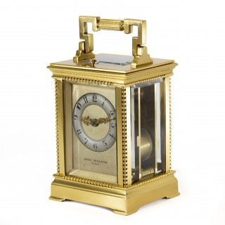 Small Drocourt carriage clock - John Walker