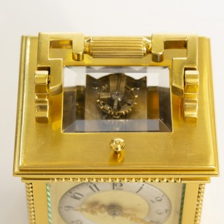 Small Drocourt carriage clock - John Walker