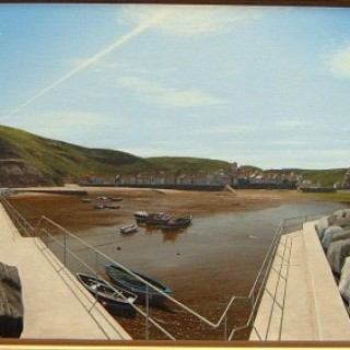 Staithes Harbour by Steve Whitehead