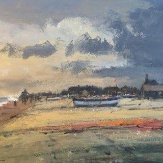 Wind Over Tide - Aldeburgh by Ian Houston