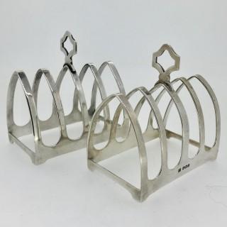 Silver Toast Racks