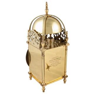 17th Century Style Lantern Clock