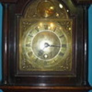 Antique John Barron Longcase Clock.