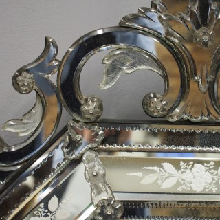 Venetian Cushion Shaped Mirror