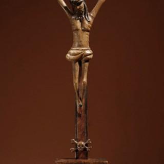 A Folk Art Crucifix Corpus Christi Southern Germany/Austria