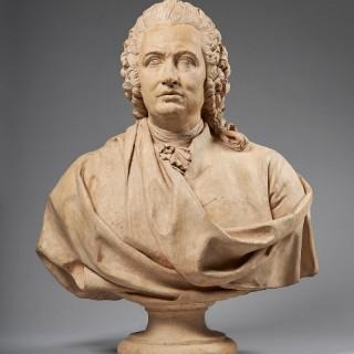 18th Century Terracotta Bust of a Gentleman