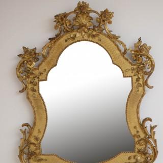 XIXth Century Wall Mirror