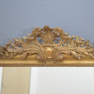 Attractive French Giltwood Mirror