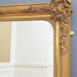 A Superb 19th Century Gilded Wall Mirror