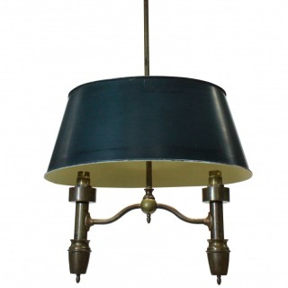 A FRENCH BOUILLOTTE PENDANT LIGHT