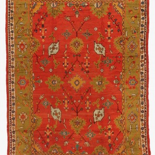 Antique Ushak carpet, Western Anatolia