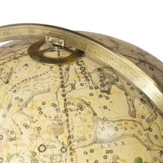 A 12 Inch Celestial Table Globe by Harris and Son