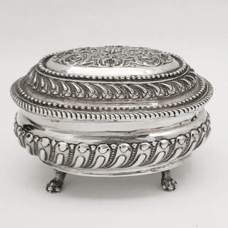 Antique German Silver Box