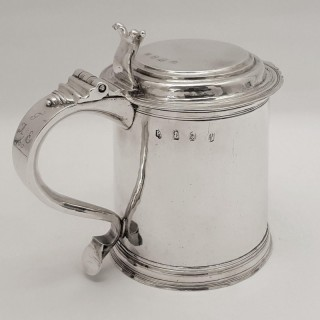 William III Silver Tankard